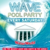 The Wave Pool Party Every Saturday at WaterWorld Themed Waterpark Ayia Napa
