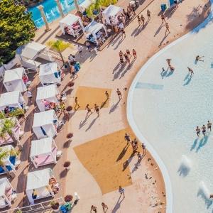 VIP CABANA LOUNGE Deposit The Wave Pool Party Ayia Napa Cyprus