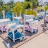 VIP Cabana at The Wave Pool Party Ayia Napa Cyprus